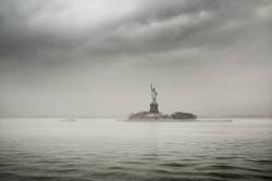 Grey Day for Lady Liberty
