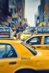 Yellow Traffic Jam, Times Square