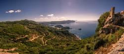 Panorama von Angelokastro | Paleokastritsa