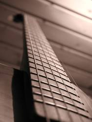Sepia Gitarre