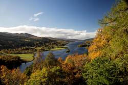 The Queens View Pitlochry Perthshire Scotland