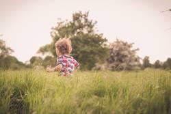 Wups im Gras