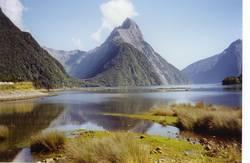 Mitre Peak Neuseeland