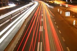 Nacht über der Autobahn 2
