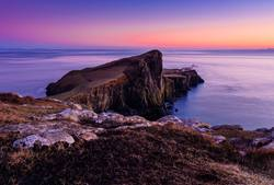 Neist Point in Sunset