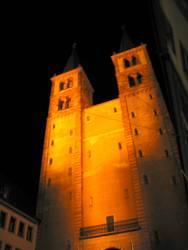 Würzburger Dom Nacht