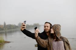 Selfie im Doppelpack