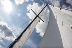 Mast und Segel