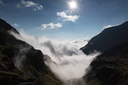 Wolken-Brandung