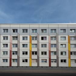 Plattenbau Fassade