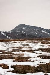 Letzter Schnee im Kaukasus