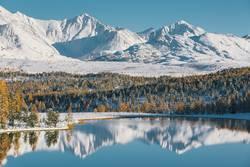 sibirische Alpen