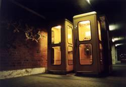 Die guten alten Telefonzellen