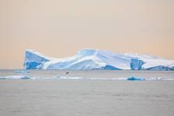 Gigant iceberg in Disco bay