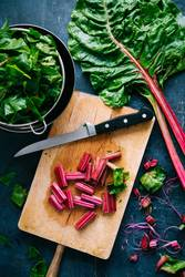 Cooking healthy swiss chard