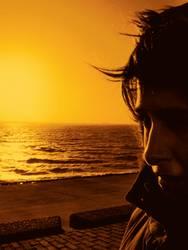 holland sunset...