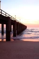 Swakopmund Jetty bei Sonnenuntergang