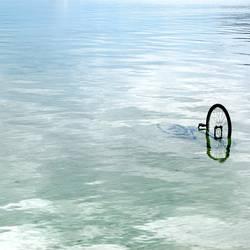 Fahrrad in Seenot