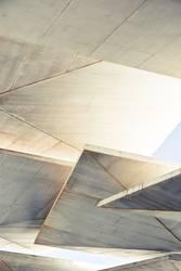 Beton Blätterdach