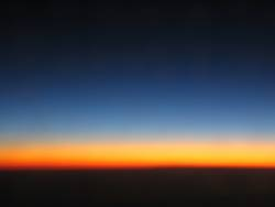 glühender horizont