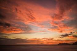 Sonnenuntergang Jaco, Costa Rica