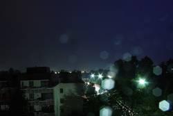 ciel nocturne scintillante