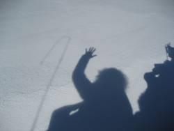Schneeschatten