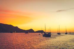 Sundown in Bequia