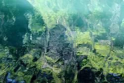 Überraschung | abstrakte Wasserlandschaft