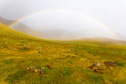 Regenbogen auf Island II / IV