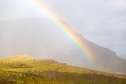 Regenbogen auf Island III / IV