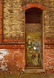 Wand mit Tür
