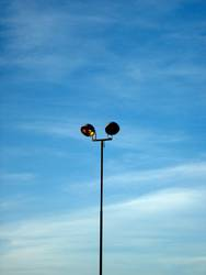 einsamer masten