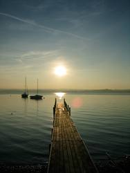 herbstsonne am ammersee