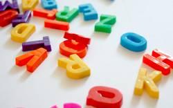 Buchstaben ACHT