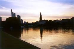 Main Ufer in Frankfurt
