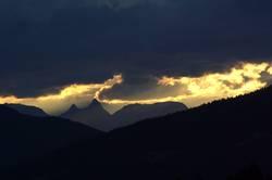 Lichtstreif am Horizont