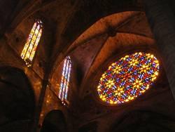 Lichtspiele in der Kathedale