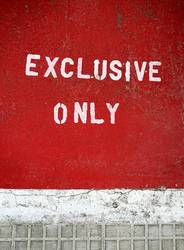 EXCLUSIVE ONLY