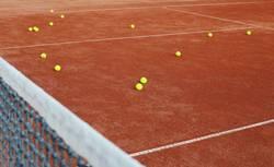 Tennisstunde