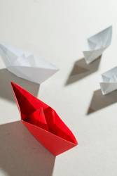 Origami boats