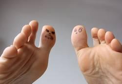 Fußvolk: Streitigkeiten