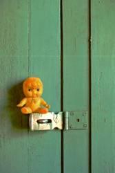 Sentry on Door Latch