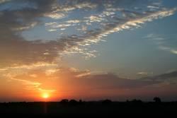 Cloud Pattern at Sunrise