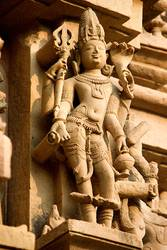 Stone Statue in Jain Temple, Khajuraho