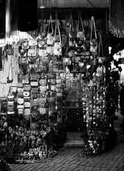 Souvenirshop in den Souks von Marrakesch