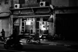 Straßen-Café