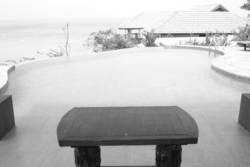 table @ pool