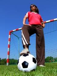 Fußballheldin
