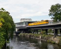 Berlin Underground Train urban U-Bahn